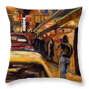 Steb's Amusements Throw Pillow