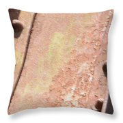 Steel Beam Throw Pillow