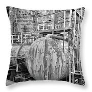 Steel Industry - Bethlehem Steel Throw Pillow