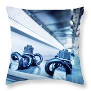 Steel Mechanic Hardware Throw Pillow