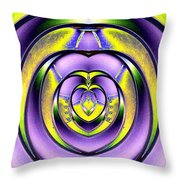 Steel My Heart Away Throw Pillow