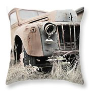Steel Tough Throw Pillow