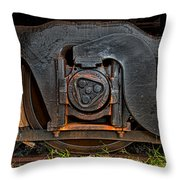 Steel Wheel Of Progess Throw Pillow