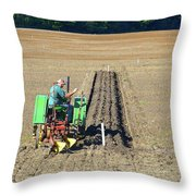 Steel Wheels Two  Throw Pillow