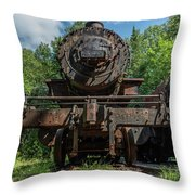 Steel Will  Throw Pillow