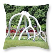 Steelroots Sculpture Throw Pillow