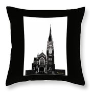 Steeple Chase 1 Throw Pillow
