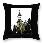 Steeple Chase 2 Throw Pillow