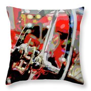 Steering Clear Throw Pillow