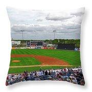 Steinbrenner Field 2 Throw Pillow