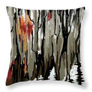 Steinhatchee, Florida Throw Pillow