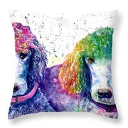Stella And Violet Throw Pillow