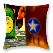 Stella Beer Throw Pillow