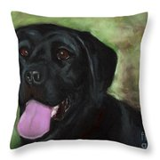 Stella Luna Throw Pillow