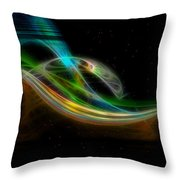 Stellar Bridge Throw Pillow