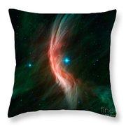 Stellar Winds Flowing Throw Pillow