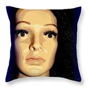 Steller Stella Throw Pillow