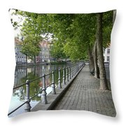 Step Back In Time Throw Pillow