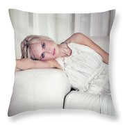 Step Into My Life Throw Pillow