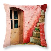 Step It Up Throw Pillow