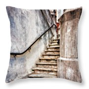 Step On Up Throw Pillow
