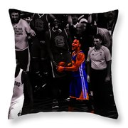Stephen Curry Sweet Victory Throw Pillow