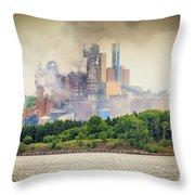 Stephen King Fog Plant Throw Pillow