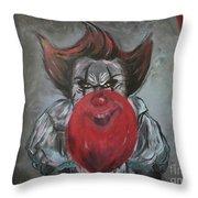 Stephen King It Throw Pillow