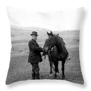 Stephen Mather (1867-1930) Throw Pillow