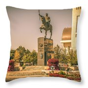 Stephen The Great Throw Pillow