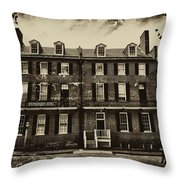 Stephenson's Hotel - Harpers Ferry Throw Pillow