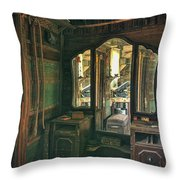 Stepping Back In Time  Throw Pillow