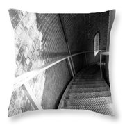 Stepping Down Throw Pillow