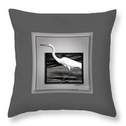 Stepping Out Into A New Dimension Throw Pillow