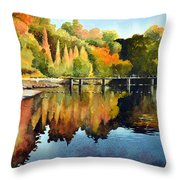 Stepping Stones Bolton Abbey Throw Pillow
