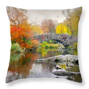 Stepping Stones Throw Pillow