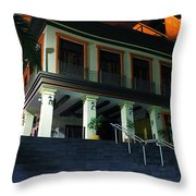 Stepping Up Throw Pillow