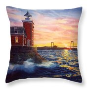 Steppingstones Light Throw Pillow