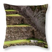 Steps And Terraces Throw Pillow