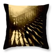 Steps Throw Pillow