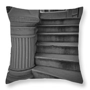 Steps Of Mount Vernon Throw Pillow