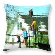Steps Of Generations Throw Pillow