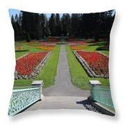 Steps To Duncan Garden Throw Pillow