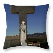 Steps To Salvation Throw Pillow
