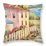 Steps To The Hudson Throw Pillow