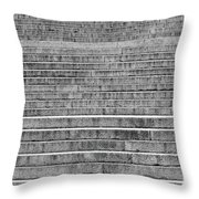 Steps To The Lincoln Memorial Throw Pillow