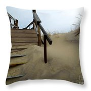 Steps Up Throw Pillow