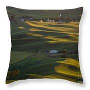 Steptoe Butte 16 Throw Pillow