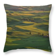 Steptoe Butte 9 Throw Pillow