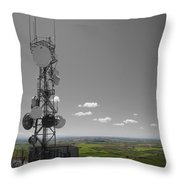Steptoe Butte Overlooking The Palouse - Eastern Washington State Throw Pillow